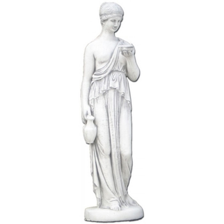 Grieks beeld van de godin van de jeugd. Bekend uit de Griekse mythologie